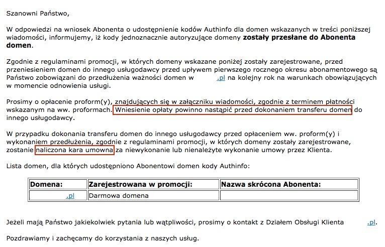promocja w nazwa.pl i home.pl